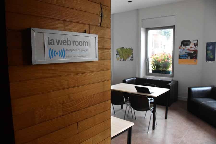 Le Chambon-sur-Lignon : l'espace de travail partagé est... en accès gratuit