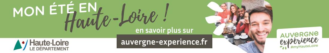 Tourisme Haute-Loire juillet 2020