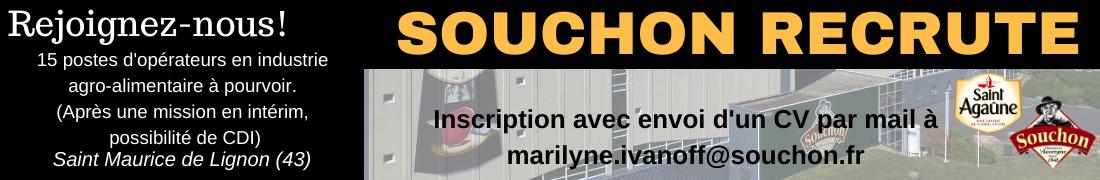 Souchon Auvergne janvier 2020