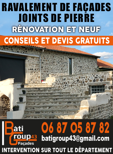 Bati Group 43 page accueil