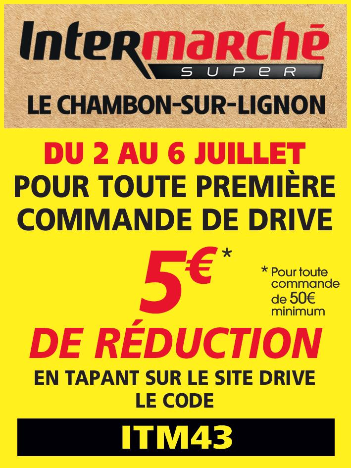 Chambon Intermarché juillet 2020