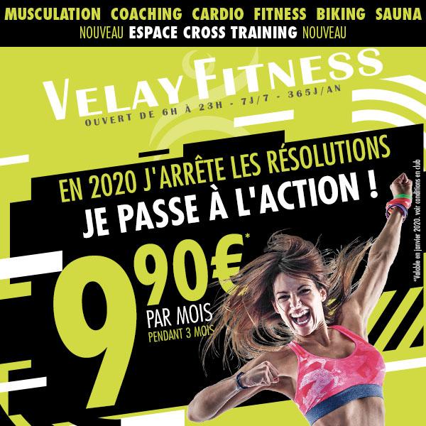 Velay Fitness janvier 2020