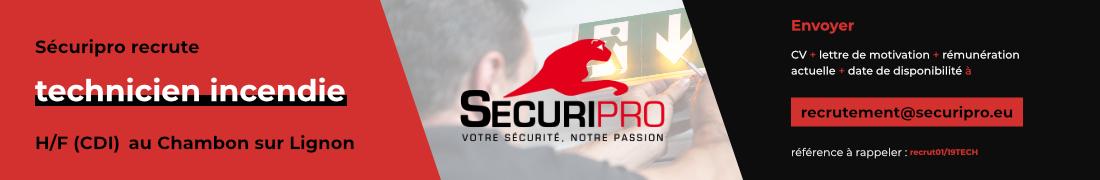 Securipro recrutement janvier 2019