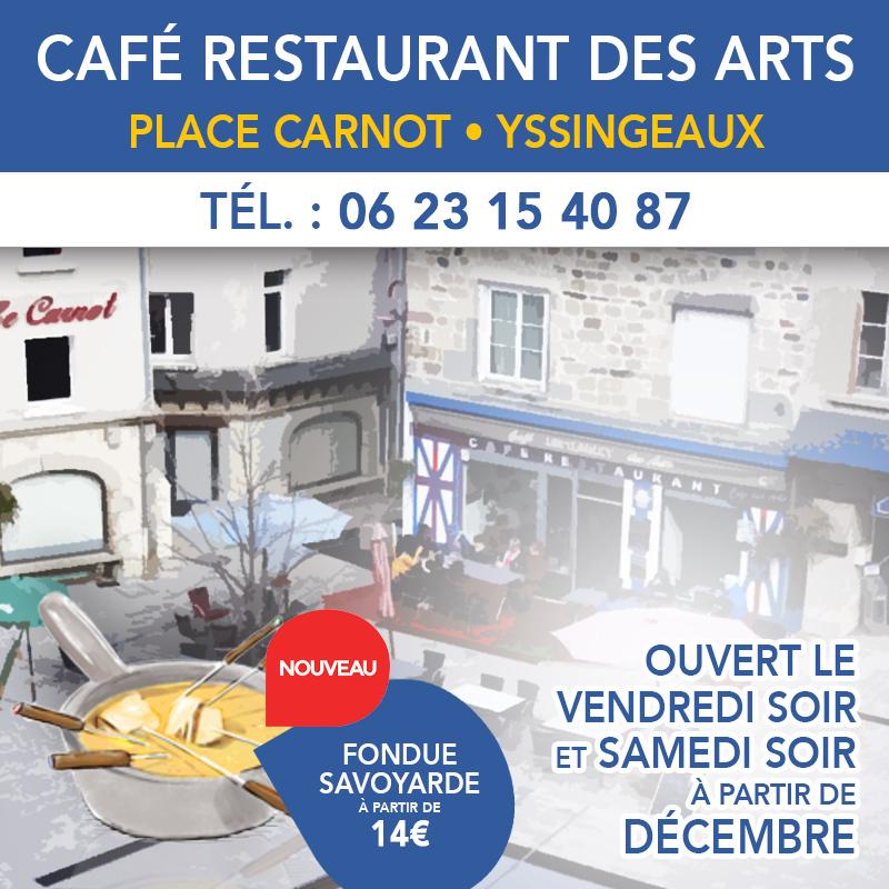 Café restaurant des arts
