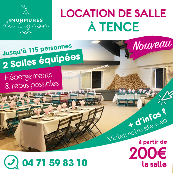 Tence camping salle avril 2019