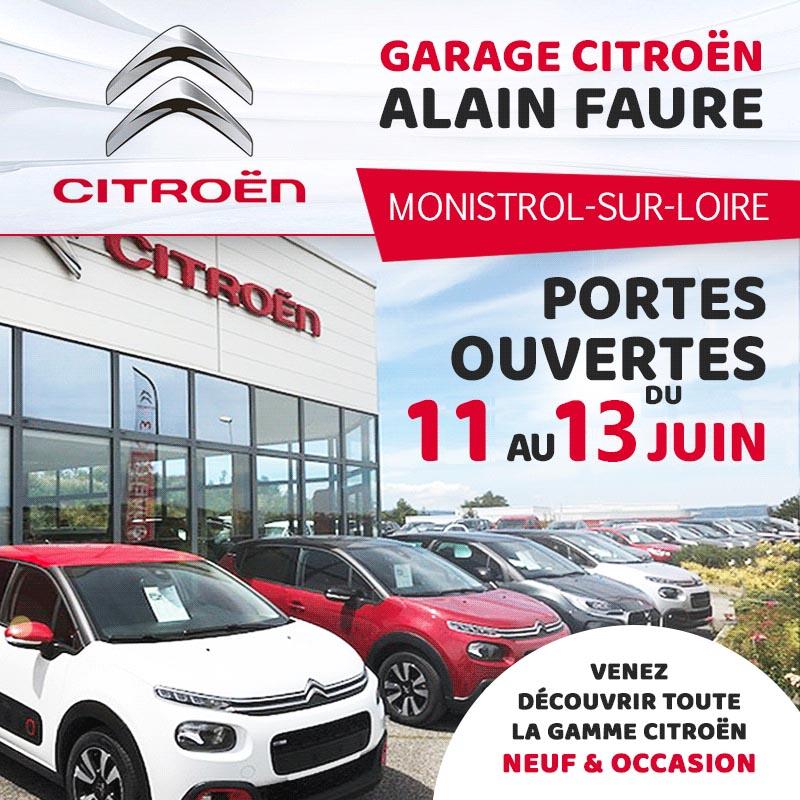 Monistrol Citroën Faure juin 2020