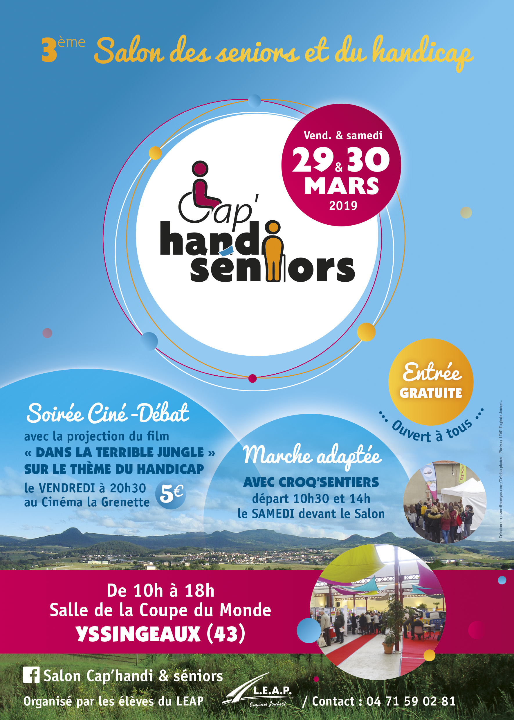 Salon Cap Handi Seniors 2019 carré