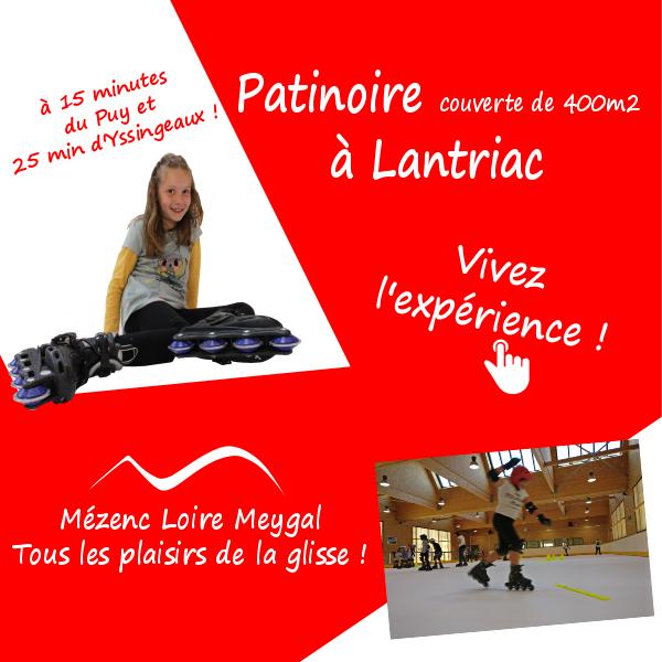 Mézenc Meygal Noël 2017 patinoire
