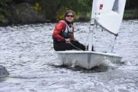 Une régate de voile sur le lac de Devesset (vidéo)