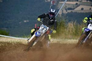 Course sur prairie de Saint-Maurice-de-Lignon : série 2 en moto Open