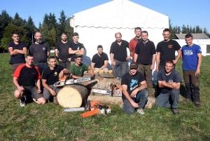 Tence : les bûcherons vont envoyer du bois dimanche pour la Foire forestière