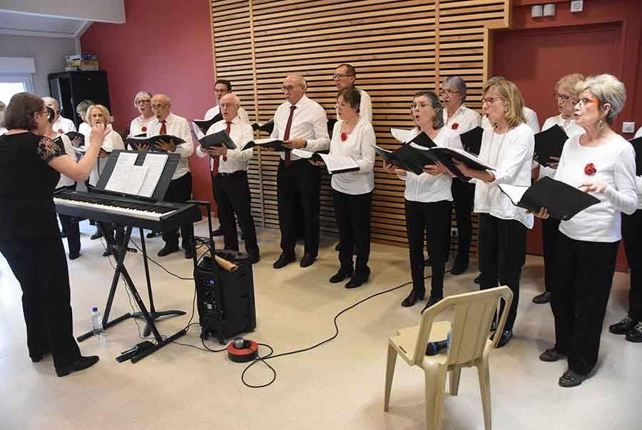 Sainte-Sigolène : une chorale pour animer les voeux de l'Ehpad