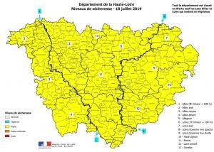 Sécheresse : toute la Haute-Loire placée en alerte
