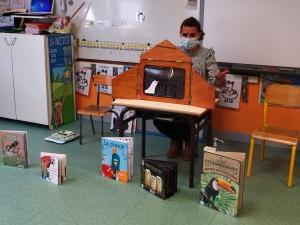 Beauzac : la bibliothèque se déplace à l'école et dans chaque maison