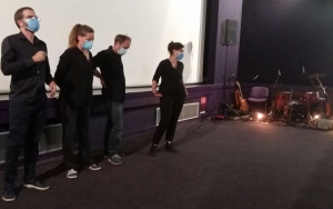 Un ciné-concert riche d'émotions au cinéma de Tence