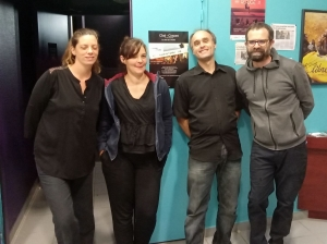 Gwendoline, Marie, Mathieu, Baptiste