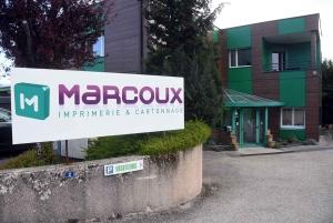 Saint-Just-Malmont : l'imprimerie Marcoux offre 35 000 visières de protection (vidéo)