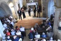 """""""Le Concert impromptu"""" dans """"Un seul souffle"""" à l'église du Pouzat."""