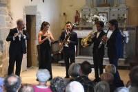 """Les musiciens jouaient """"par coeur"""", un vrai plaisir pour les spectateurs."""