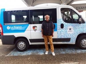 L'A.S. Mazet-Chambon dotée d'un minibus 9 places
