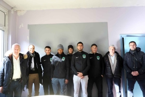 Puy-en-Velay : un local mis à disposition du club de foot du FC Chirel