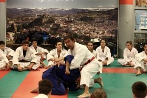 Entraînement réussi avec Nicolas Sigaud, haut gradé 6e dan de judo