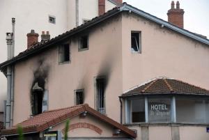 Puy-en-Velay : l'hôtel Le Régional détruit dans un incendie nocturne