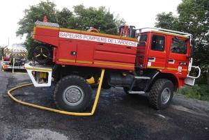 Ce sont les pompiers ardéchois qui sont intervenus sur ce feu.