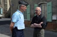 Le père Patrice Missonnier a demandé une présence des gendarmes pour la messe de dimanche en plein air.