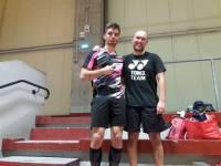 Tanguy LABADIE vainqueur en finale de son partenaire de club Angélo DO dans le tableau de simple série 4.