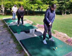 Le Mazet-Saint-Voy : les travailleurs de l'ESAT initiés au golf