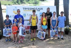 Triathlon des Sucs : les photos des podiums XS