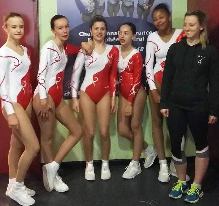 Aérobic : Yssingeaux 20e aux championnats de France