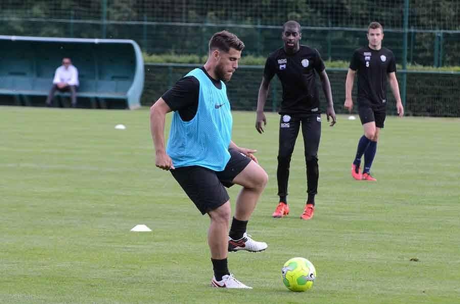 Bryan Bergougnoux, ancien de Lyon et Toulouse, est la tête d'affiche de Tours FC.