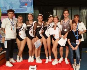 Yssingeaux : médaille de bronze pour l'aérobic au Championnat de France UNSS