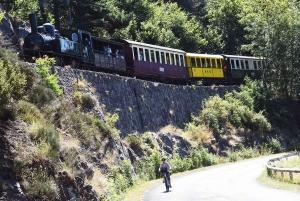 """Un train spécial """"Seventie's"""" pour les 50 ans du sauvetage de la ligne Dunières/Raucoules/Saint-Agrève"""