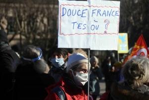 Liberté de manifester et liberté d'informer se rejoignent au Puy-en-Velay