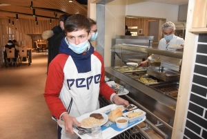 Puy-en-Velay : deux ans après l'incendie criminel, un self flambant neuf au lycée Jean-Monnet