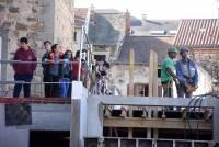 Yssingeaux : des collégiens pénètrent dans les coulisses du bâtiment