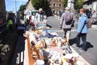 Chaudeyrolles : vingt exposants au vide-greniers