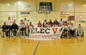 Handibasket : les Aigles du Velay confortent leur deuxième place