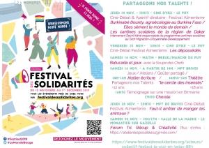 Les Droits humains ont leur festival, du 14 au 30 novembre