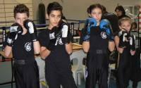 Boxe Française : quatre jeunes de Blavozy aux interclubs du Rhône