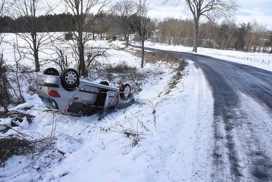 Grazac : une voiture accidentée retrouvée au bord de la route