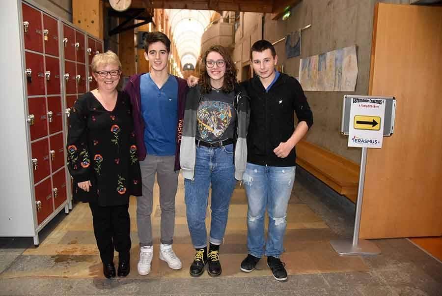 Monistrol-sur-Loire : un projet Erasmus + lancé au lycée Léonard-de-Vinci