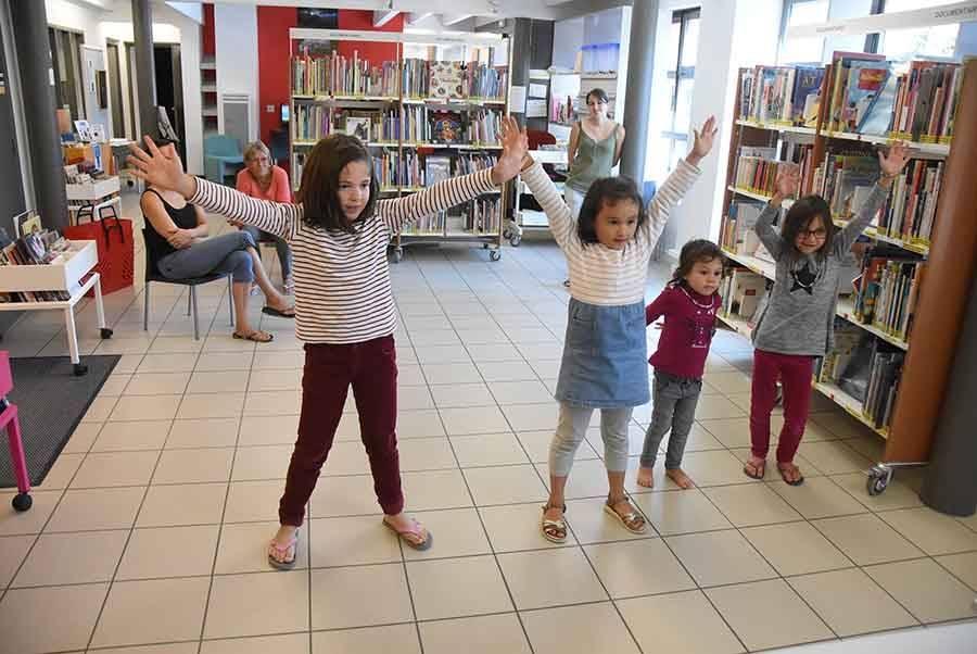 Le jeu Just Dance a été testé à la bibliothèque