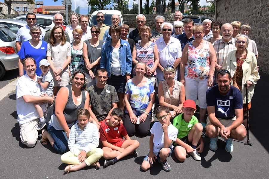 Cinquième cousinade consécutive pour la famille Frachette