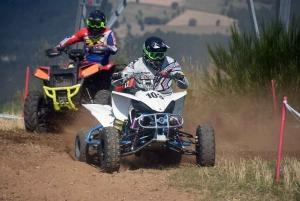 Course sur prairie de Saint-Maurice-de-Lignon : les quads