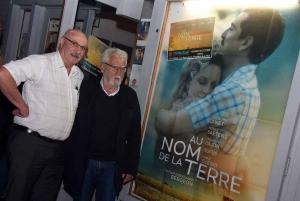 Henry Jouve était l'invité du cinéma pour le débat