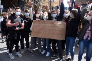 Yssingeaux : les lycéens réclament le contrôle continu pour le bac